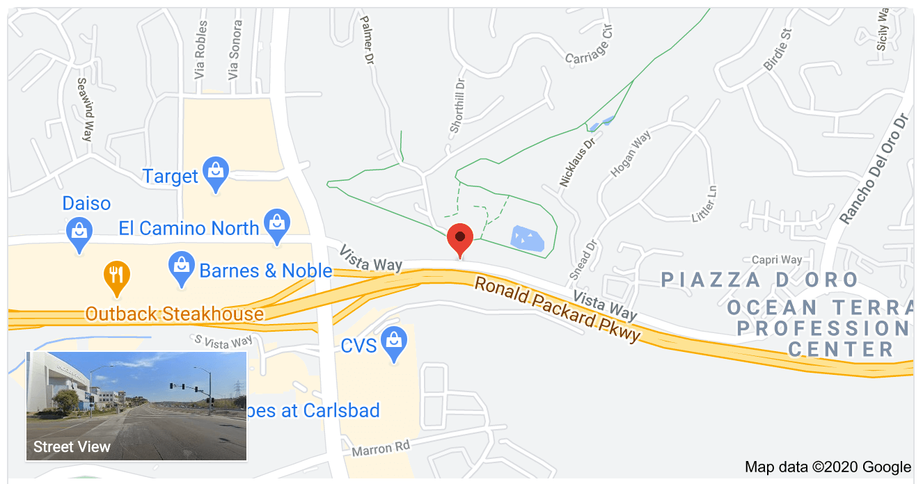 Accident-Valley-Glen Drive and Vista Way in Oceanside