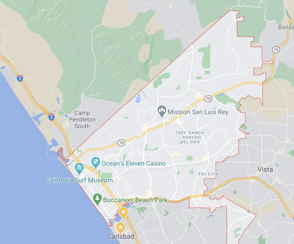 Oceanside San Diego Car Accident