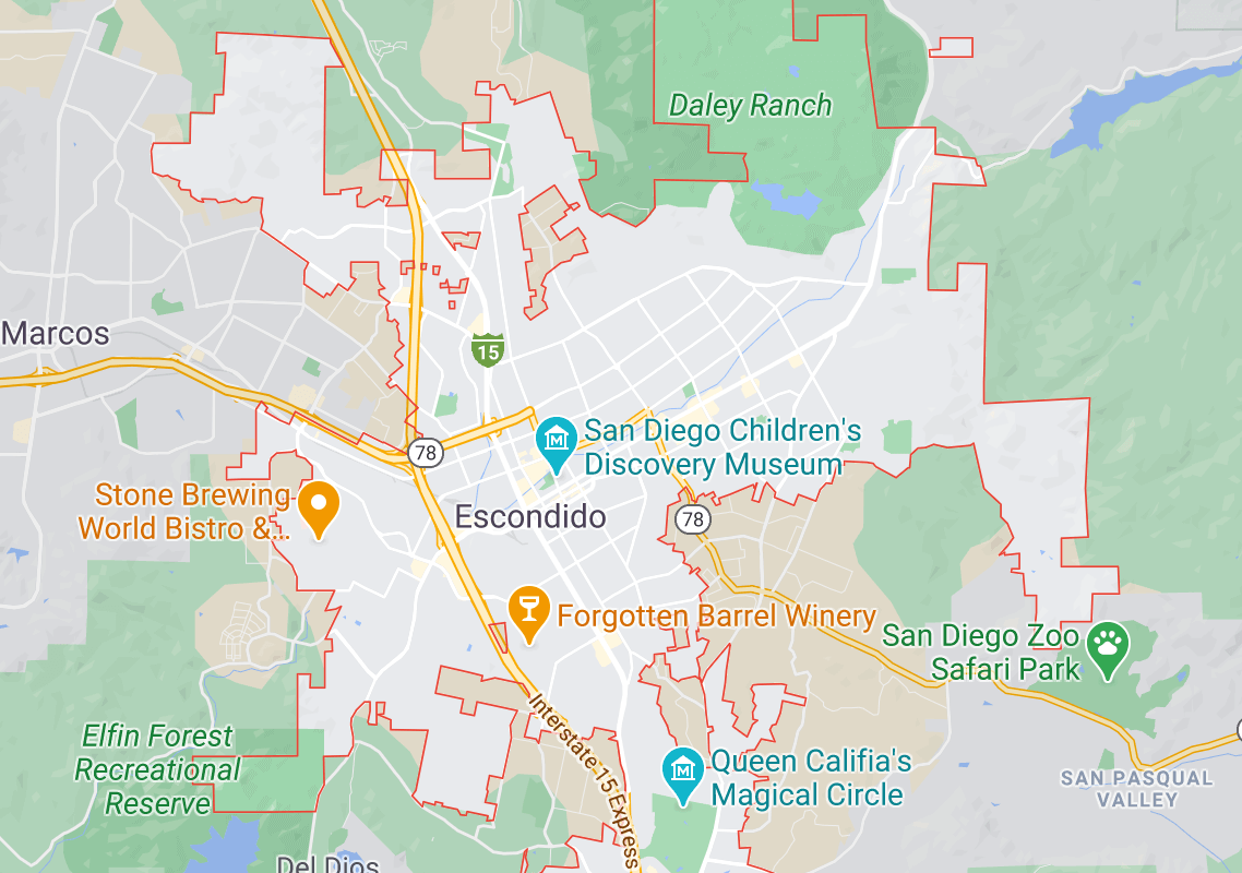 Escondido car accident